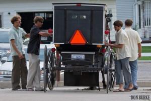 Amish teens behaviors