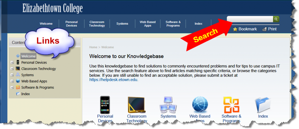 Knowledge Base Welcome
