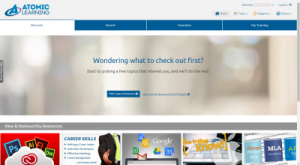 Atomic Learning Home Page