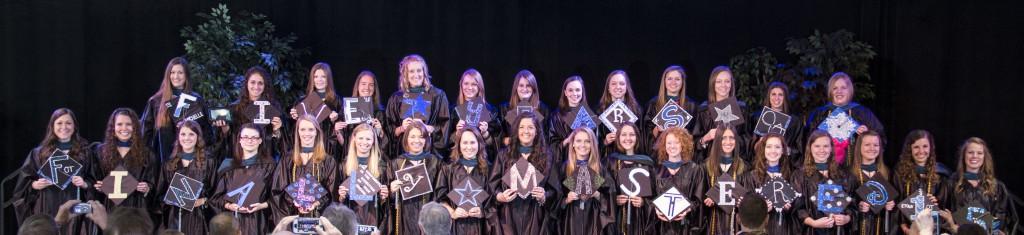 2015 Masters OT graduates