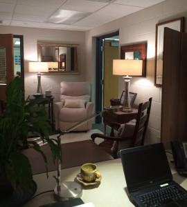Office makeover a la Tam!